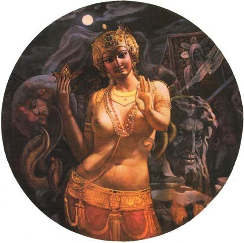 Картина «Иштар» художника Александра Исачева.