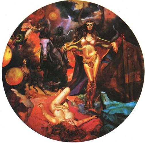 Картина «Апокалипсис» художника Александра Исачева.
