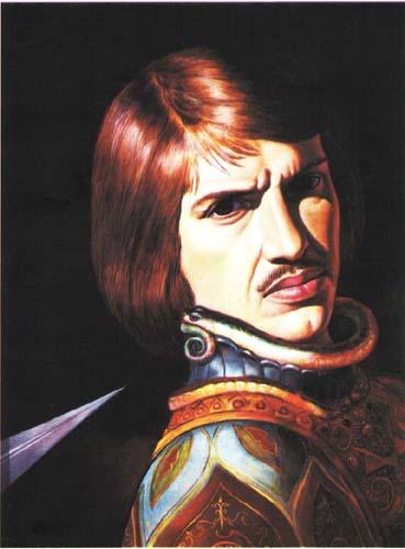 Картина «Автопортрет» художника Александра Исачева.
