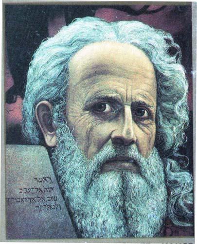 Картина «Иаков» художника Александра Исачева.